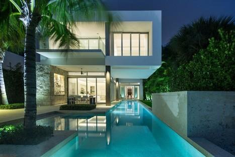 maison moderne sur petit terrain