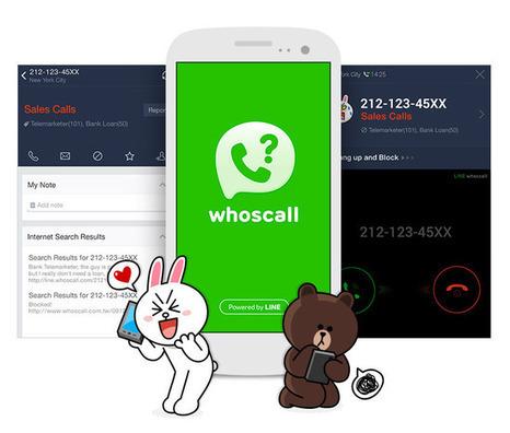 Line Whoscall identifica las fuentes de las llamadas y mensajes de números no conocidos | Personas 2.0: #SocialMedia #Strategist | Scoop.it