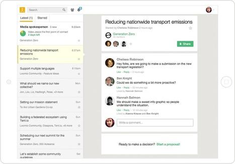 Loomio : outil d'aide à la délibération et à la prise de décision collaborative | Pratiques collaboratives et coopération | Scoop.it