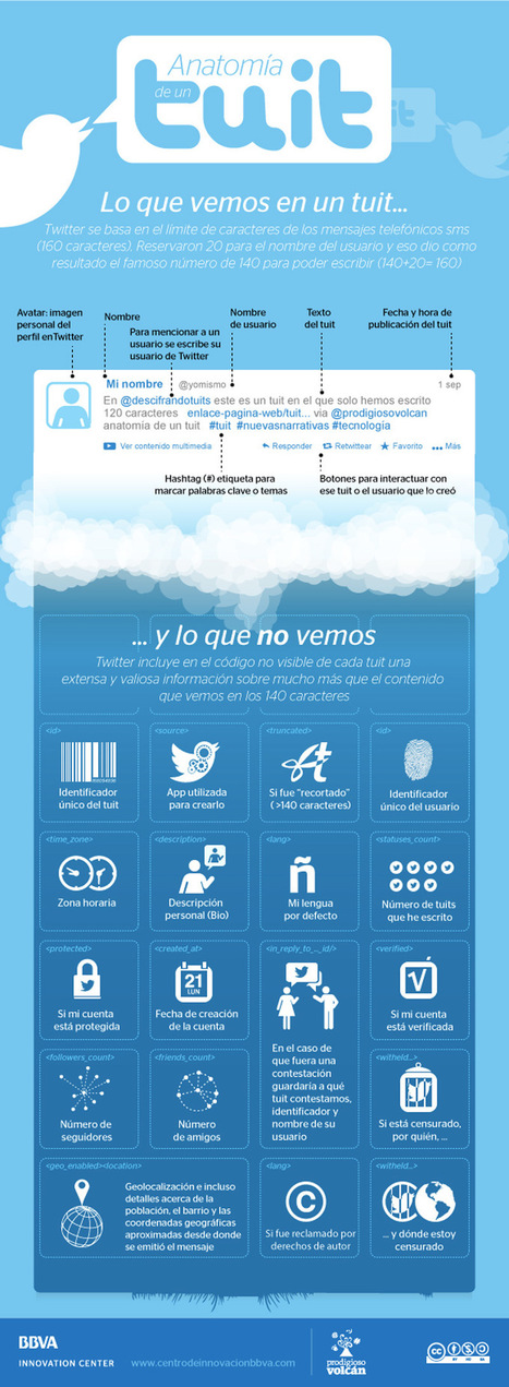 Anatomía de un Tuit #Twitter #Infografía - GjavierMartinC.com | Redes Sociales_aal66 | Scoop.it