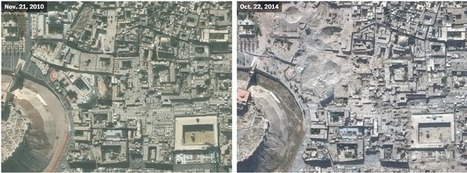 A bird's-eye view of war-torn Syria | general geography | Scoop.it