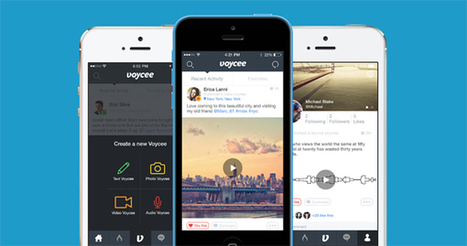 Voycee: The Social Network That Destroys Old Messages | Digital-News on Scoop.it today | Scoop.it