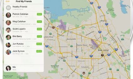 Find my Friends & My iPhone 4.0 bêta | Geeks | Scoop.it