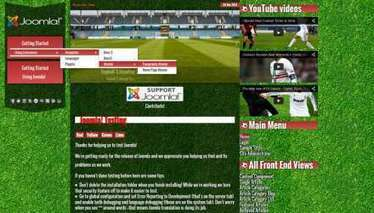 Joomla templates Topball 3 Football Premium