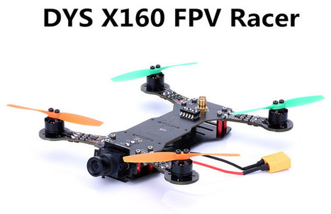 Dys X160 Fpv Racer Flies Farther And Faster Top Toy Space