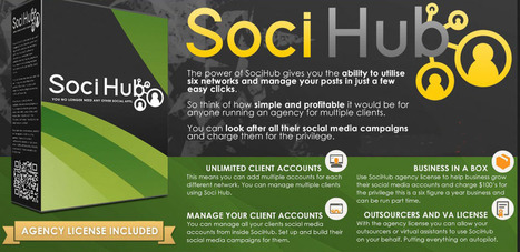 Soci Hub - One-click Post Instantly To Upload Any Post Upto Six Networks | Mastering Facebook, Google+, Twitter | Scoop.it