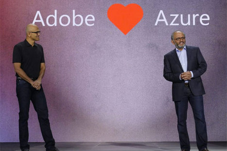 As Adobe, Microsoft Azure ink cloud partnership, Amazon looms | Cloud Central | Scoop.it