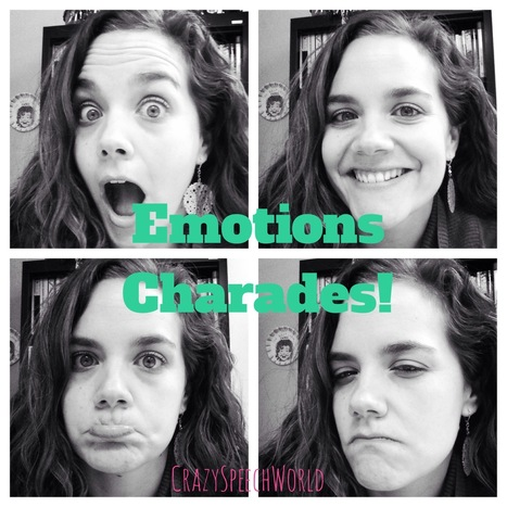 Emotions Charades - Crazy Speech World | Social & Emotional Learning for Students | Scoop.it