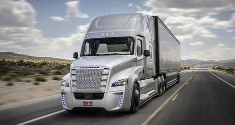 Google prévoit des camions de livraison sans chauffeur | geeko | Soutenir les start-ups! | Scoop.it