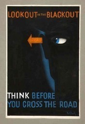 UK Road Safety Posters from the WWII Blackout - Visual News | Mr. Soto's APEH and World History | Scoop.it
