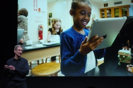 How Apple is replacing Macs with iPads at school | iPads in kindergarten Best Practices | Scoop.it