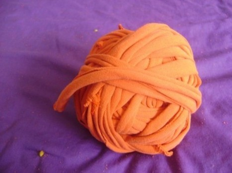 "T-Shirt ""Yarn"" Tutorial 