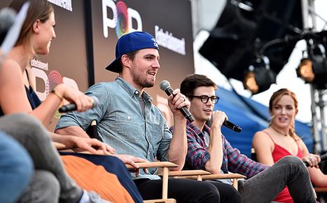 'Flash,' 'Arrow,' 'Supergirl,' 'Legends' Stars Tease Epic Crossover   ARROWTV   Scoop.it