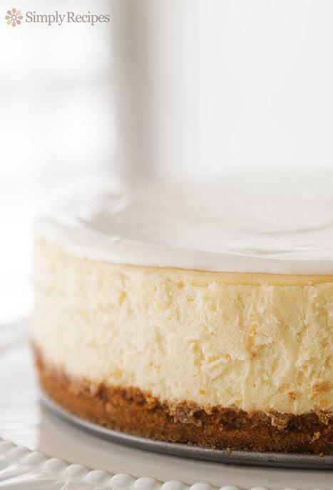 Perfect Cheesecake Recipe | SimplyRecipes.com | Jordi R Parera | Scoop.it