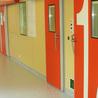 Blood bank doors