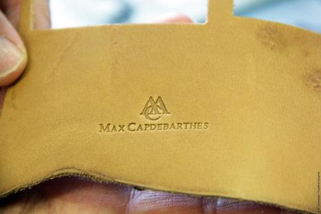 Dans l'atelier de Max Capdebarthes, maroquinier à Sauveterre-de-Rouergue | Métiers, emplois et formations dans la filière cuir | Scoop.it