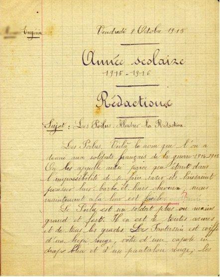 100 ans pile-poilu : Octobre 1915, la guerre arrive à Argenton-sur-Creuse - L'Agitateur | Ressources en HGEC | Scoop.it