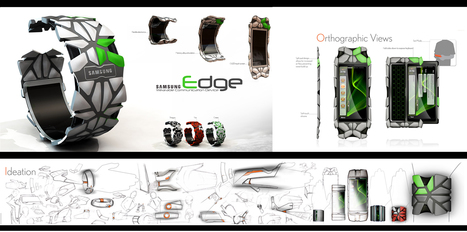 Concept Design: Wristband with flexible screen by Erik Campbell | UX-UI-Wearable-Tech for Enhanced Human | Scoop.it