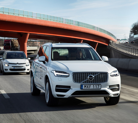 Volvo aims to sell self-driving cars before 2021 | IVI-snews | Scoop.it