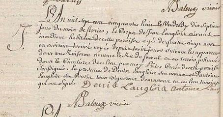 La déchéance de Jean Langlois | GenealoNet | Scoop.it