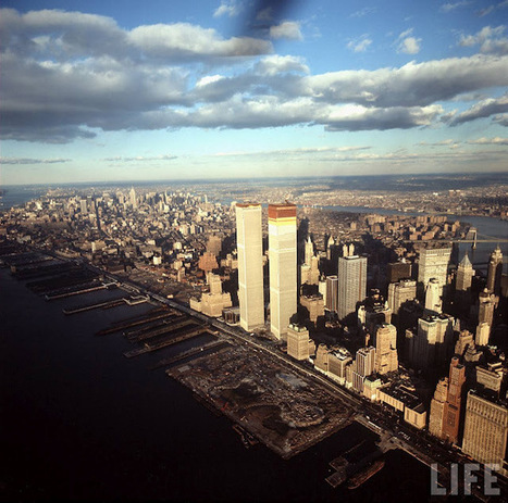 New York City History: A strange, new skyline: World Trade Center 1971 | New York I Love You™ | Scoop.it