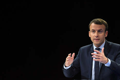 Présidentielle 2017: Emmanuel Macron dans le vif de son programme | Mediapeps | Scoop.it