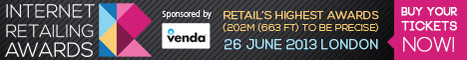 The 2013 Internet Retailing Awards on June 26 will see 400 retailers meeting up | TheMarketingblog | Digital, Social & Communications | Scoop.it
