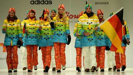 Germany Says Rainbow Olympic Uniforms Aren't a Jab at Russian Anti-Gay Laws   Daily Crew   Scoop.it
