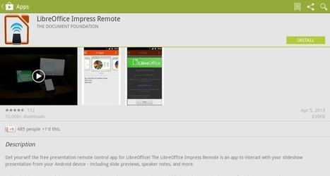 Remote Control Slideshows Using LibreOffice Impress Remote on Your Android Device | Outils et pratiques du web | Scoop.it