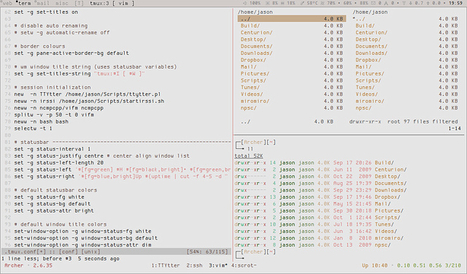 #Sharing #Terminal #Sessions With #Tmux And #Screen | HowtoForge | # ! #alone #no #more in the #command #line | Linux and Open Source | Scoop.it