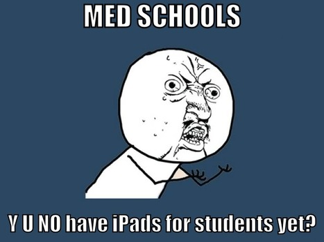 Why Medical Students Should All Have iPads – Part 2 | Social Media and learning in medical education and healthcare, theory and practice | Scoop.it