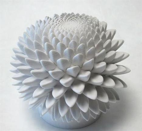 3D printed sculptures bloom like hypnotic flowers | 3D Virtual-Real Worlds: Ed Tech | Scoop.it