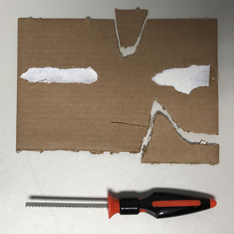 Stuff for Cutting Cardboard | iPads, MakerEd and More  in Education | Scoop.it