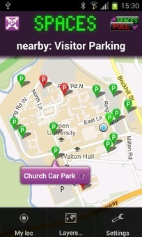 ParkJam: Parking Availability Crowdsource | Social Media - research,views and news | Scoop.it