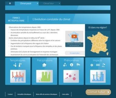 ClimatHD, une application interactive destinée aux citoyens - Ministère du Développement durable | Environnement et développement durable, mode de vie soutenable | Scoop.it