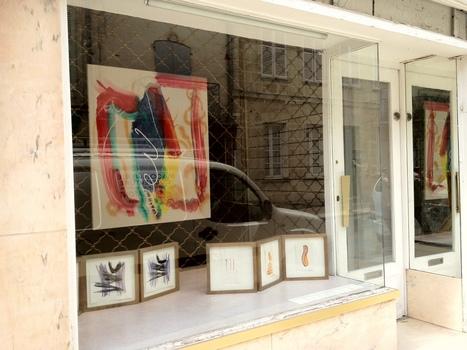Exposition permanente de Bruce Tippett au 112 rue de la République | Vitrines d'art à Sainte Foy la Grande - 2013 | Scoop.it
