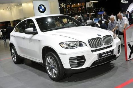 BMW To Launch Face-Lifted X6 On November 22 | News | Scoop.it