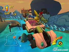 crash bandicoot tag team racing iso
