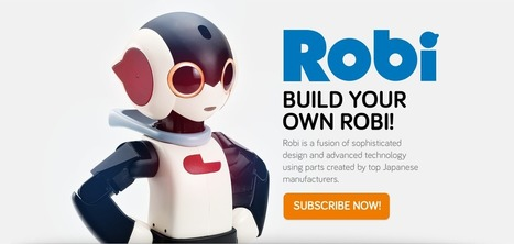 Build Your Own Robi! | MakerSpace | Coding | Makers | Scoop.it