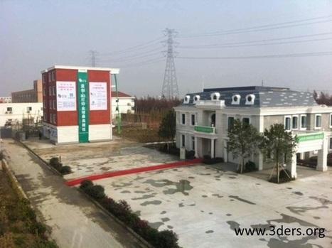 En Chine, un immeuble de 5 étages bâti grâce à l'impression 3D | high-tech, tendances et prospective | Scoop.it