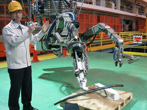Toshiba Prepares Amphibious Robot for Fukushima Reactor Pool | Robotic applications | Scoop.it