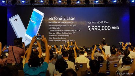 Max et Laser : deux nouvelles versions pour le ZenFone 3 du groupe Asus | Téléphone Mobile actus, web 2.0, PC Mac, et geek news | Scoop.it