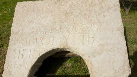 Rare Roman monument bearing Hadrian's name found in Jerusalem | Jewish Education Around the World | Scoop.it
