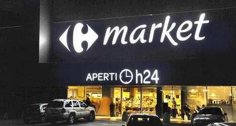 En Italie, Carrefour ouvre certains de ses magasins 24 heures sur 24 et 7 jours sur 7 l Les Echos | Les temps de la ville | Scoop.it