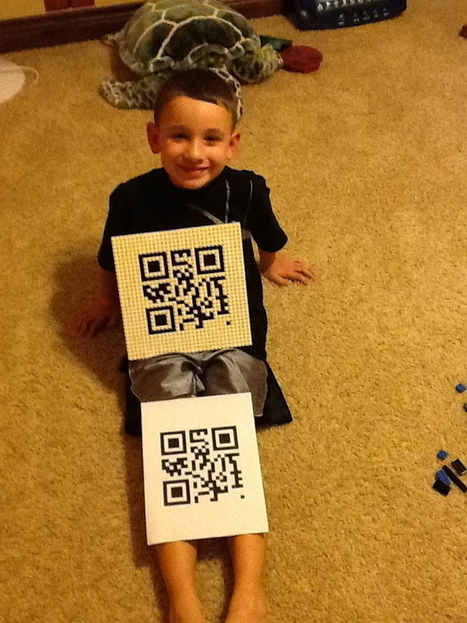 "QR Fun – After-School Project With My Son! | MathyCathy's Blog – Mrs. Cathy Yenca | Switch On - ""All things E-Learning"" 