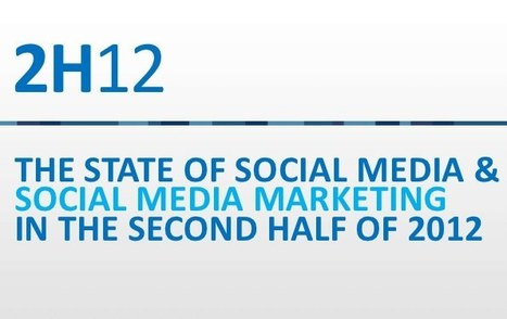 Social media marketing: lo stato dell'arte aggiornato all'estate 2012   Social media marketing News   Scoop.it
