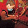 les moines tibetains