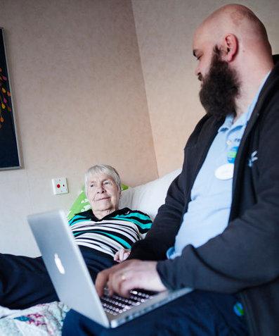 Irma, 94 år och bloggar från äldreboendet i Solna | IT-Lyftet & IT-Piloterna | Scoop.it