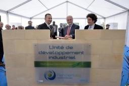 Fermentalg pose la 1e pierre de l'unité industrielle Professeur Daniel Thomas | Chimie verte et agroécologie | Scoop.it