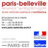 ENSA Paris-Belleville Matériauthèque
